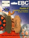 "SPRINT 900 (Carb) 1993 Only: ""FULL FRONT SET"" EBC Sintered ""HH"" Brake Pads FA214HH-215HH =2xpair"